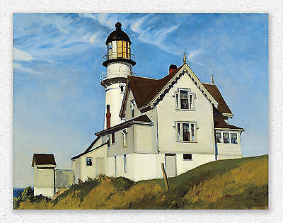 Edward Hopper Captain Upton's House  71x91cm  STAMPA TELA CANVAS PRINT TOILE