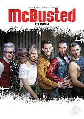 Mcbusted  Wall Calendar 2016 By Red Star Sale !! Sale !!
