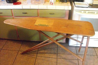 Vintage 1940's Sears Roebuck and Co. Maid Of Honor Ironing Board Table - Great!