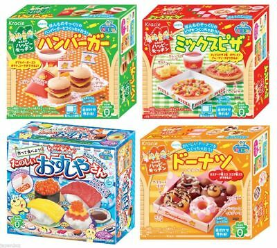 KRACIE POPIN COOKIN Hamburger,Sushi,Doughnut,Pizza DIY Japanese Candy Christmas