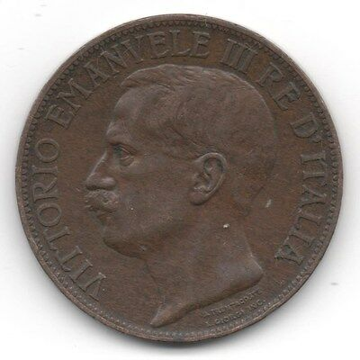 1911R Italy - 10 Centesimi - **Ef Condition** Lovely Coin