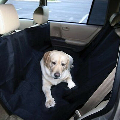 Large Black Waterproof Car Dog Seat Cover Cat Pet Protector Travel Auto Rear
