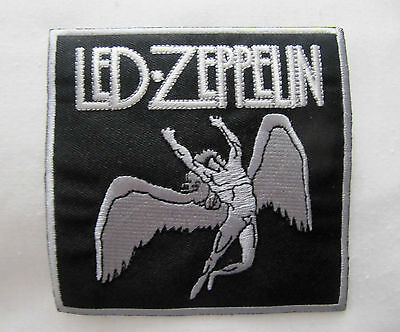 LED ZEPPELIN  LARGE Embroidered Iron On/Sew On Patch  Rock Band