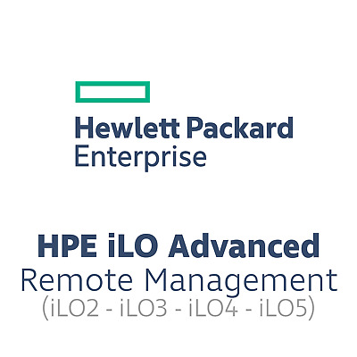 HP iLO Advanced Pack / Lizenz - iLO2, iLO3, iLO4 - 512519-021