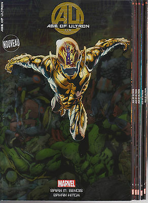 AGE OF ULTRON N° 1-2-3-4-5-6 SERIE COMPLETE 6 comics Panini Marvel