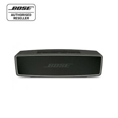 BOSE SOUNDLINK MINI Series ii BLUETOOTH SPEAKER with Speakerphone - CARBON BLACK
