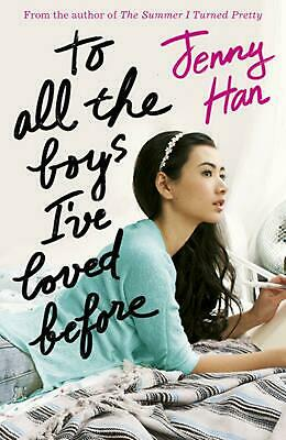 To All the Boys I've Loved Before by Jenny Han Paperback Book Free Shipping!