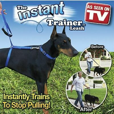Instant Trainer Leash lead stop pulling Anti Pull Pet Harness Control dog puppy