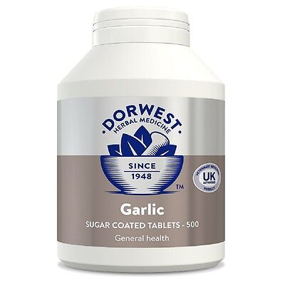 Dorwest Garlic 500 Tablets, Premium Service, Fast Dispatch