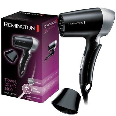 Remington D2400 Folding Handle Compact Travel Hair Dryer Worldwide Voltage 1400W