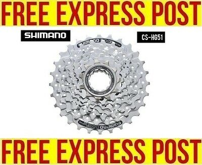 Shimano Alivio CS-HG51 8-Speed Cassette 11-30 FREE EXPRESS POST