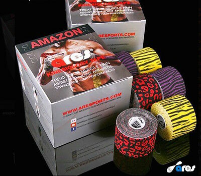 Genuine Ares Amazon Tape Kinesiology Elastic Sports Tape - Support KT