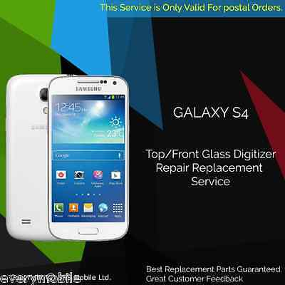 Samsung Galaxy S4 Top Glass Front Screen Replacement Service