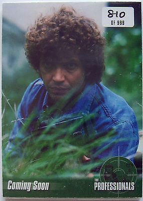 The Professionals Trading Card Preview Set