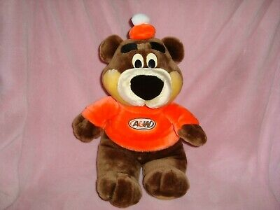 "A&W Bear Large Plush 18"" Mascot"