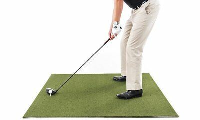 Golf Practice Mat 3' x 5' Residential Hitting Chipping Driving Range Free Gifts