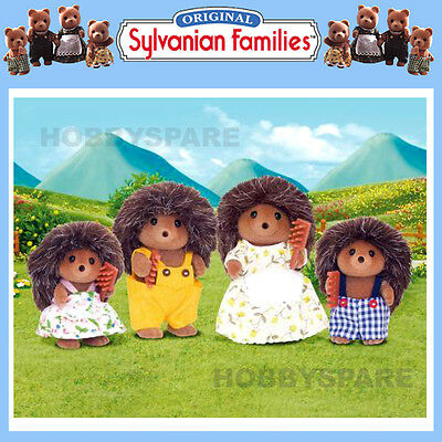 New Sylvanian Families Hedgehog Family  Doll Figure Set 4018 New Release