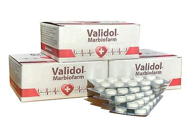 VALIDOL 50 Tablets Calming & Sedative Effect Anxiety Nausea AntiStess Neuroses