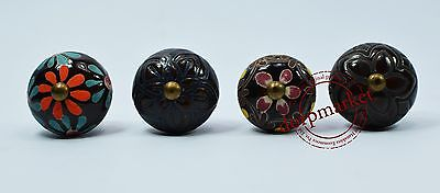 16 Pieces Vintage color Kitchen / dress Ceramic Knobs Cupboard drawer Pull