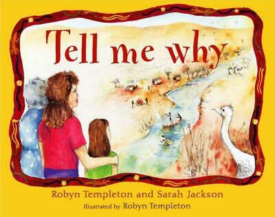 Tell Me Why by Sarah Jackson Paperback Book Free Shipping!