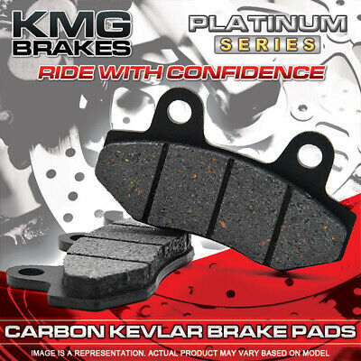 Front + Rear Carbon Kevlar Brake Pads For 2009-2011 Polaris 850 XP EPS Sportsman