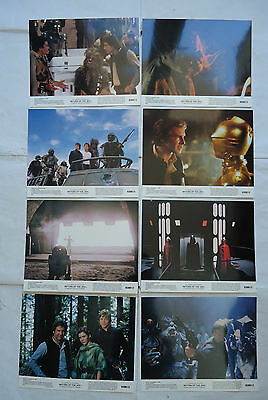 STAR WARS/RETURN OF THE JEDI/U.S.set 8 stills 1983