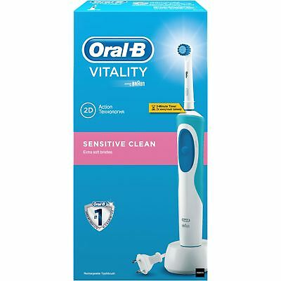 Oral-B Sensitive Clean Vitality Electric Rechargeable Power Toothbrush by Braun