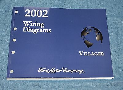 2002 Mercury Villager Wiring Diagrams Ford