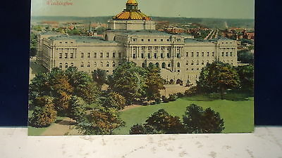The Library of Congress  in Washingto, D.C.  post card