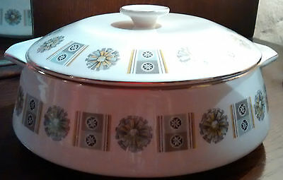 LORD NELSON POTTERY Casserole Dish 50s 60s Vintage Retro Kitsch VGC Nelson Ware
