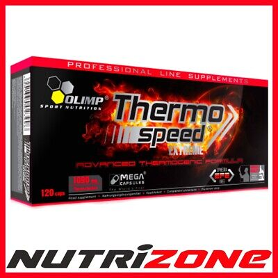 OLIMP Thermo Speed Extreme Fat Burner Weight Loss 120caps + FREE CARNITINE SHOT
