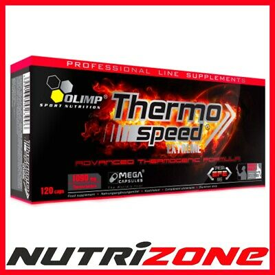 OLIMP Thermo Speed Extreme Mega Caps Diet Pills Fat Burner Weight Loss 120caps