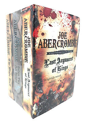 The First Law Trilogy 3 Books Collection Set By Joe Abercrombie BA The Blade NEW