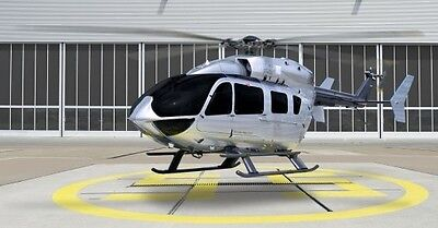 Airbus Helicopters EC145 Medium Utility Helicopter Wood Model Large