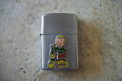 vintage Little Squirt ad character lighter 1957 soda boy RARE advertising