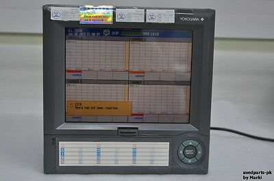 Yokogawa Dx220-1-2 Style S4 Daqstation Digital Recorder Power On Tested