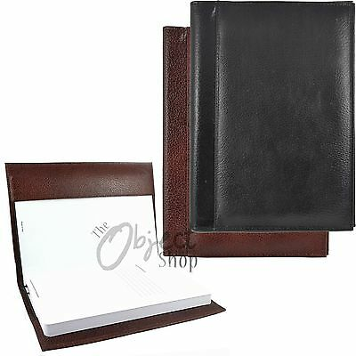 Quality Real Leather A5 Book Cover Notebook Notepad Sleeve Holder Journal Diary