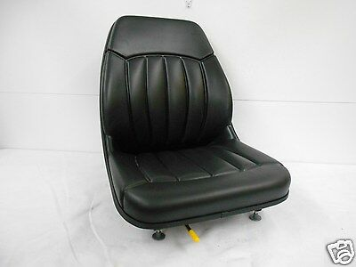 High Back Black Seat Bobcat 463,542,543,642,643,742,743,843,t190 Skid Steer #ev