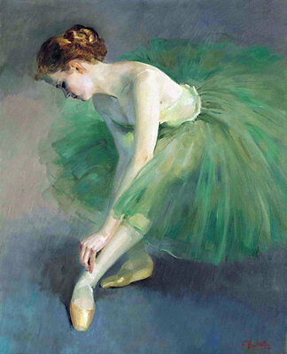 Modern Home Decor HD Prints oil painting on canvas 16x20inch Ballet Girl NTA16