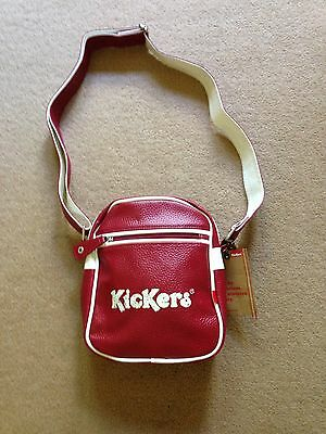 Retro Kickers Small Flight Shoulder Bag Brand New With Tags