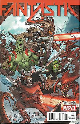 Fantastic Four #7 Variant Guardians Of the Galaxy  Cover new unread Marvel