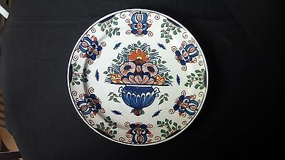 A Lovely Large Delft Charger