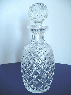 Waterford Crystal Cut Glass Limited Decanter w Stopper Handmade in Ireland