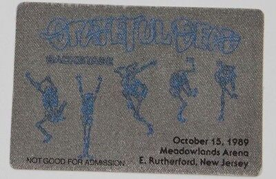 Grateful Dead Backstage Pass 10-15-89 Meadowlands Arena New Jersey