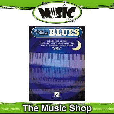 New EZ Play #119 Blues Piano Music Book -  Easy Play E-Z