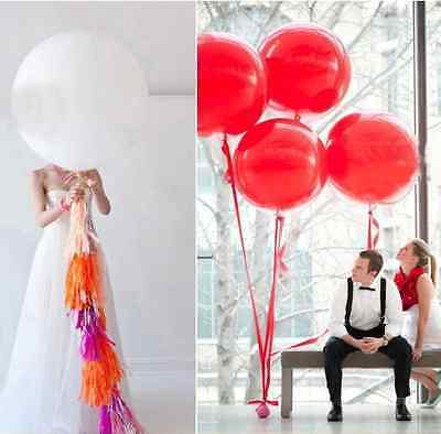 """36 inch GIANT LATEX BALLOON 36"""" Party Wedding Birthday Party Decoration Balloons"""