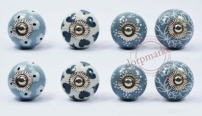 16 pcs Vintage type multi color Kitchen/dress Ceramic Knobs Cupboard drawer pull