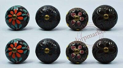 16 Pcs Vintage Type Color Kitchen / dress Ceramic Knobs Cupboard drawer Pull