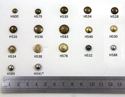 Upholstery Furniture Pins *17 Types* Chair Tacks Dome Studs Nail Repairs