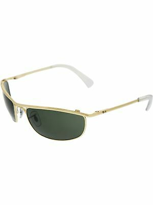 Ray-Ban Men's Olympian RB3119-001-59 Gold Oval Sunglasses